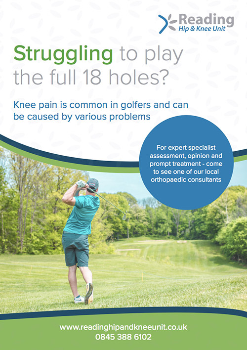 golf injury treatment in reading berkshire